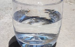 borehole water after treatment